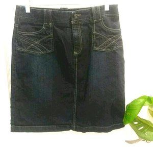 Sonoma Mid Length Denim Skirt Size 10